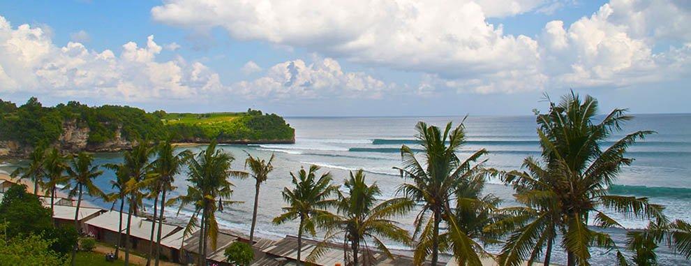 balangan beach wave bali surf school bali