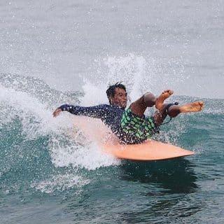 Malibu Longboarding in Balangan