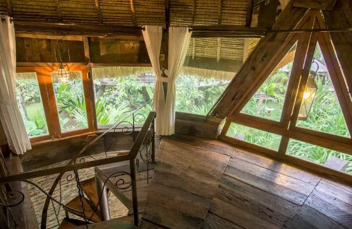 fairytale cabin wood surf shack bali