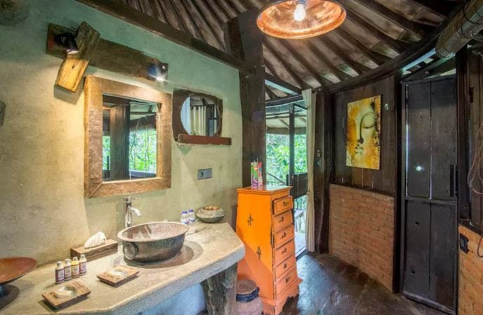le petit prince bathroom surf school bali