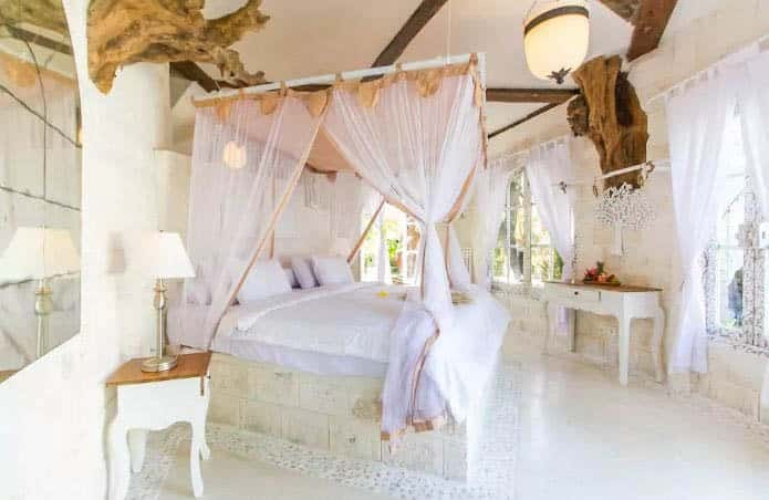 Mykonos Treehouse Bedroom