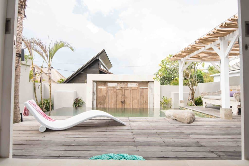 pool deck villa bingin bali surf and stay