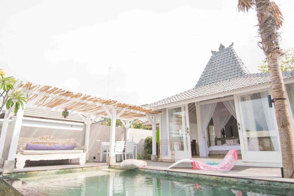 romantic suite bali bingin surf house accommodation