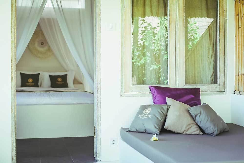 standard bedroom at sunhouse balangan bali