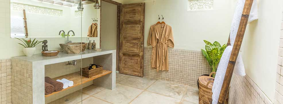 sun house bali luxury bathroom surf stay in balangan bali
