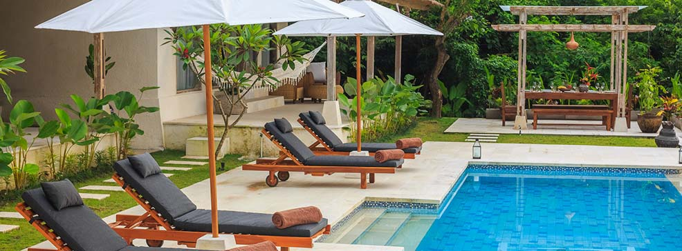 sun house bali luxury pool surf stay in balangan bali