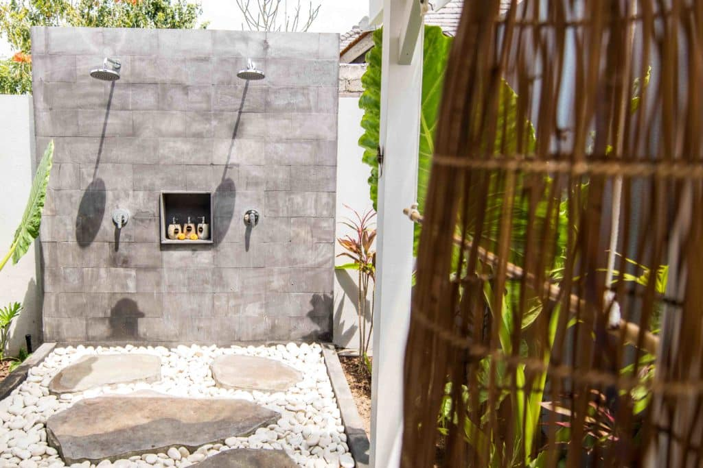 villa mahi mahi outdoor shower bali