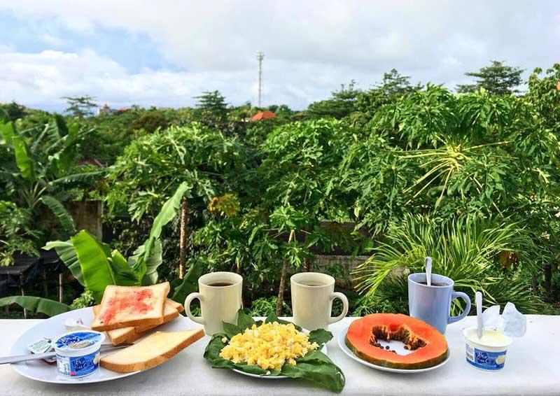 Bali Bio Villas Breakfast