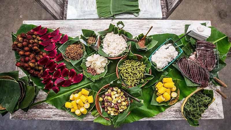 Bali Bio Villas Organic Food