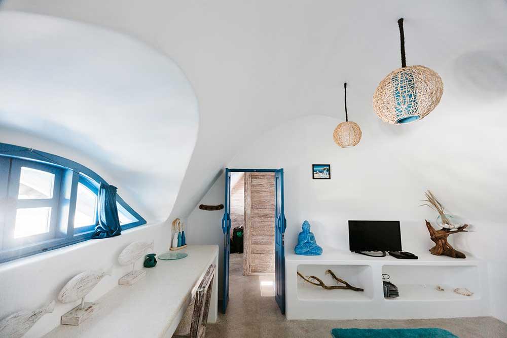 Bali Bio Villas Santorini Room